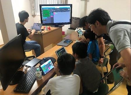 スキルを活かしてプログラミング教室を開催