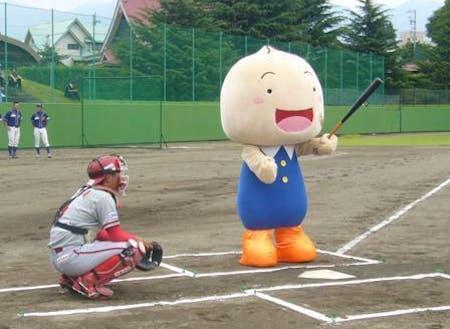 特別住民票も交付されている子どもに人気のマスコットキャラクター「ちーぼ」