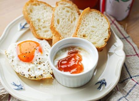 地元産の卵、ジャム、地粉パン。あなたの食卓も変わる。