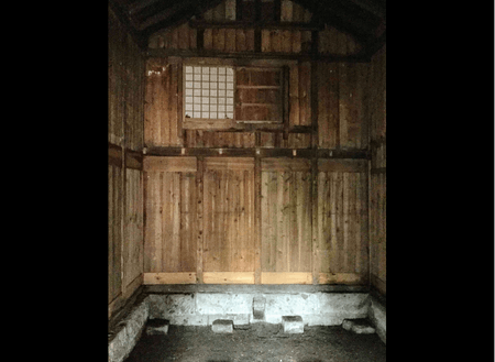 大谷石蔵内部の様子