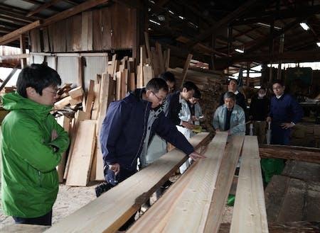 川上~川下の関係者で木材の最適な使途を決定