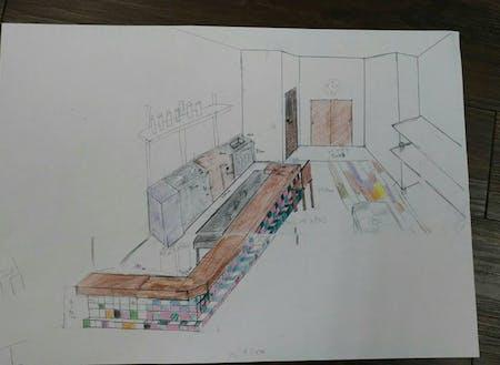 以前は、DIYSTYLEのオフィスの中にカフェを作るプロジェクトを行いました。