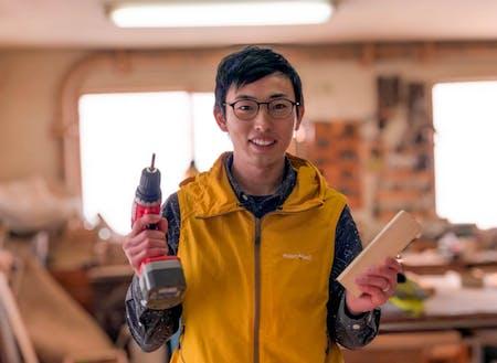 2018年度、ベアーズに着任。ご家族で移住し、出張DIY屋さんとして、事業を立ち上げるための準備中。