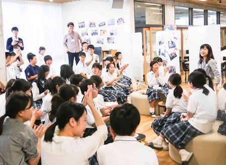 「双葉みらいラボ」には放課後、生徒たちが多く来館します