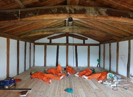改修後の土蔵2階