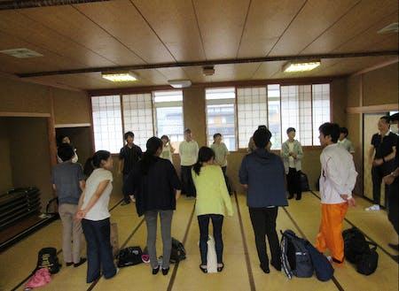 2階の和室:大学生たちの活動拠点として活用