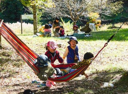 良い気もち!(子供イベント)(写真提供:松川町)
