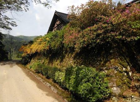 小院瀬見の集落風景