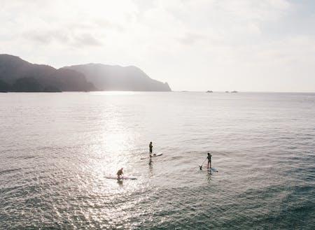 日本海まで20分!休みには綺麗な海を満喫してほしい(竹野浜)