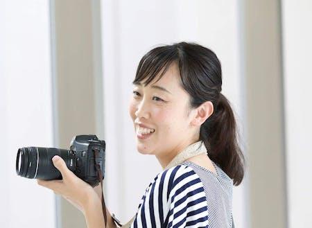 吉良幸恵さん(秋田県出身のカメラマン)