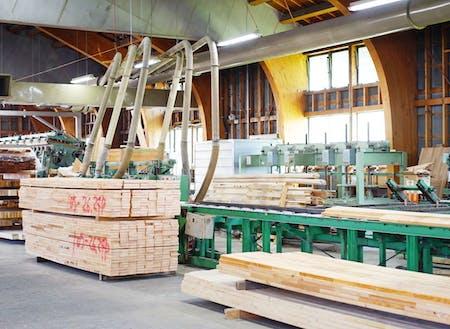 下川町産の木材を使うため、地産地消の林業を体現。販路をどう開拓していくかは、あなた次第