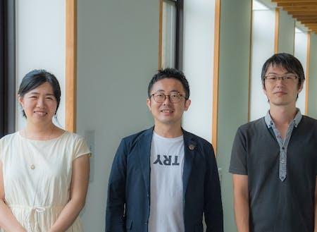 (一社)佐賀県地域おこし協力隊ネットワークの3人