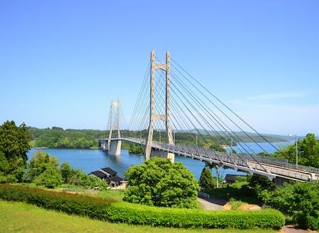 小山さんの活動拠点 能登島(©石川県観光連盟)