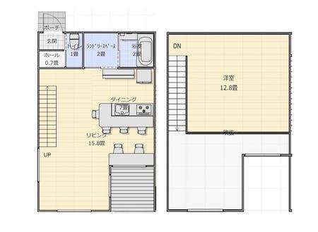 HOUSE MOEWAは家具・家電つきの住宅。セカンドハウスのように使っていただけます。