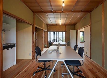 活動拠点として使用できるオフィスがあります