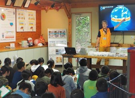 学校の「ふるさと学習」の授業では先生を務めます!
