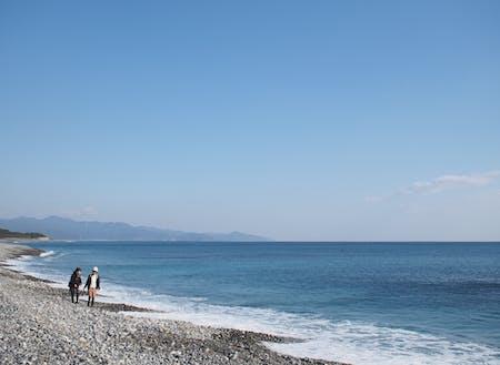 町名の由来にもなった「七里御浜」
