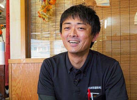 夫婦で協力することで家族の絆、地域とのつながりが強くなったと語る田中さん。
