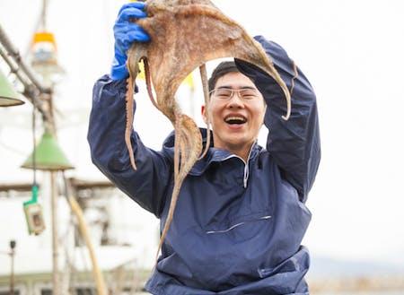 漁業の先輩たちが活躍しています!