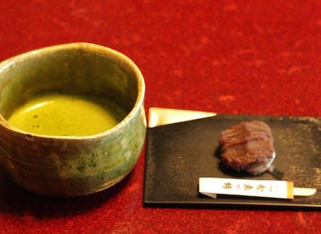 京都のお抹茶もお出ししています。