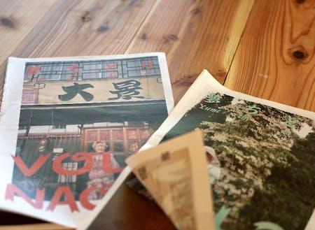 茨城県北地域おこし協力隊の日坂さんが創刊した『夢ちどり』