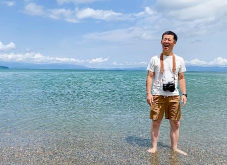 自然派移住フォトグラファーの佐野誠二さんが写真撮影!