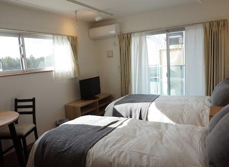 海を臨むお部屋で過ごすホテルレジデンス