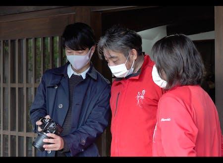 活動中の「地域連携サポーター」和田隊員