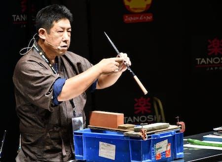 コラボ企業例:迫田刃物