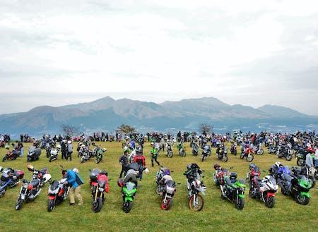 阿蘇 バイクイベント