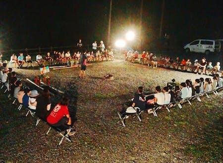 夏の冒険学校(成川渓谷にて)
