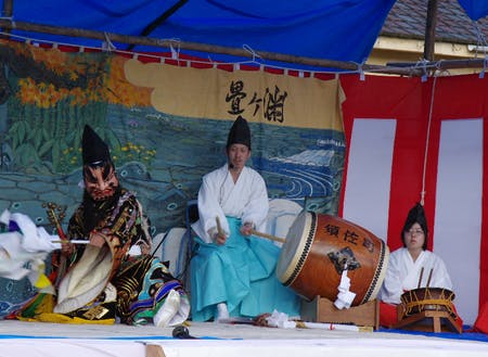 伝統文化 長州神楽舞