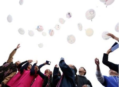 復興に願いを(N-ジオチャレ:高校生地域づくり団体)