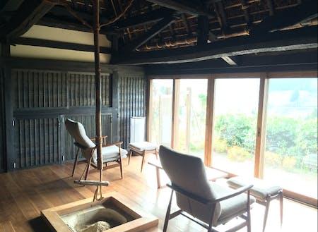 祖谷桃源郷の古民家を改修したコテージ