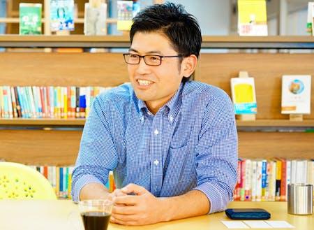株式会社BRIDGE the gap代表取締役の青野雄介さん