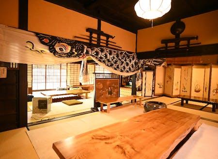 レストランの建物は弊社代表の生家でもある築150年の古民家をリノベーションしたもの。