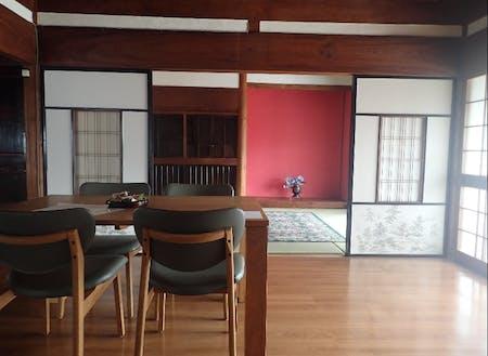 【After】一室をフローリングに。仕切りの襖は、そのまま活用。
