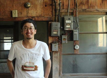 元北海道喜茂別町地域おこし協力隊の加藤