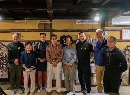 地域のメンバーが集まった「江迎活性化協議会」