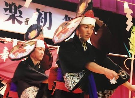 花巻市湯口地区に伝わる、上根子神楽。若き担い手からその魅力を伝えます!