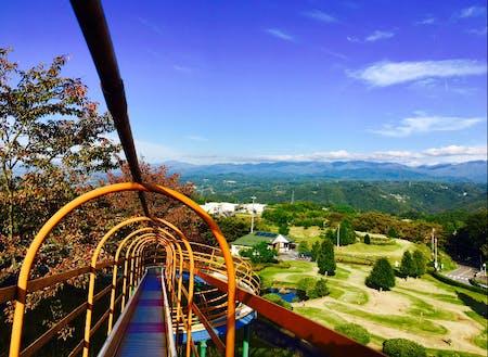 ジャンボ滑り台からの景色は絶景~!リフレッシュパーク