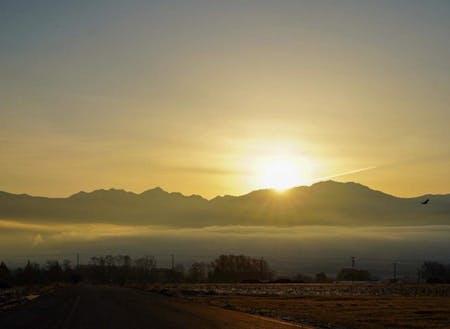 伊那谷の朝