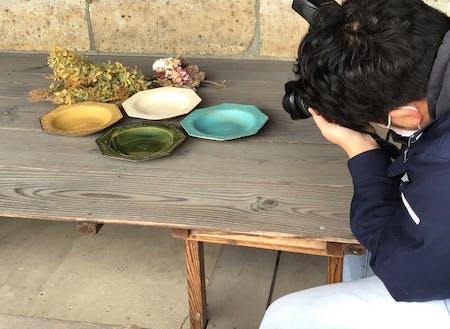 WEB陶器市出品作家さんの作品写真撮影