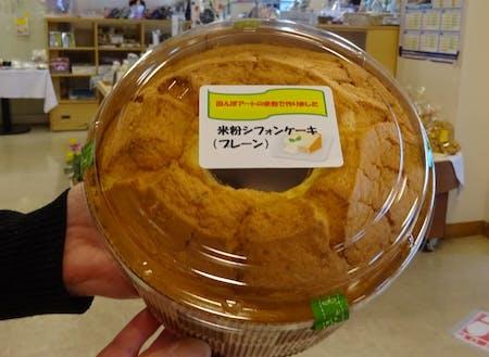 「かんかんてらす」のスタッフが調理したお菓子の一例