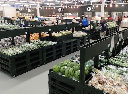 地域の農水産物を扱ううるマルシェでの販売スタッフのお仕事もあります。