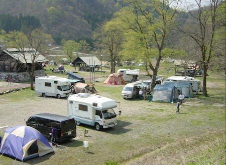 利賀ふるさと財団が運営するキャンプ場。