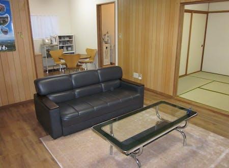 体験期間中の宿泊施設(内観)