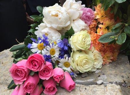 お花は一輪でも花束でも素敵なプレゼント♪素敵な習慣♪