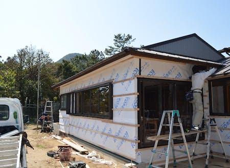元民宿のリフォーム工事