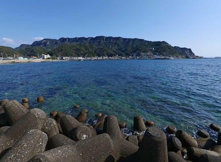 目の前は東京湾が広がります